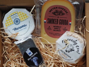 Artisan cheese box delivery August 21