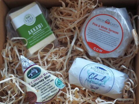 Artisan cheese box delivery October 21 21