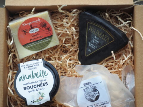 NZ Artisan cheese box delivery October 21 21